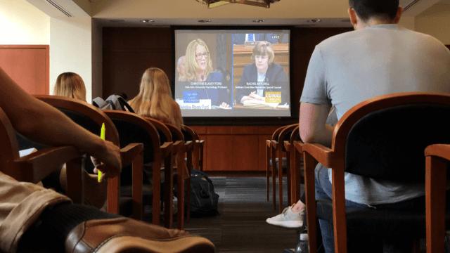 Caso Kavanaugh: Juez y acusadora testifican en Senado