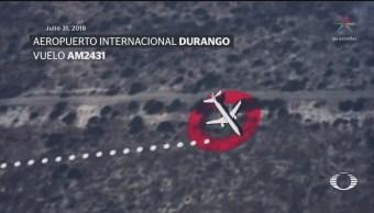 Avión que desplomó en Durango llevaba piloto no autorizado