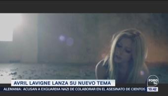 Avril Lavigne regresa con nuevo tema