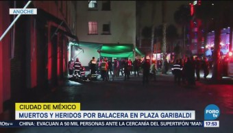 Balacera Deja Muertos Heridos Garibaldi CDMX
