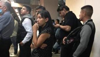 Así opera banda de roba celulares en el Metro