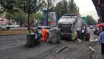 basura, 13 mil toneladas, CDMX, recolección