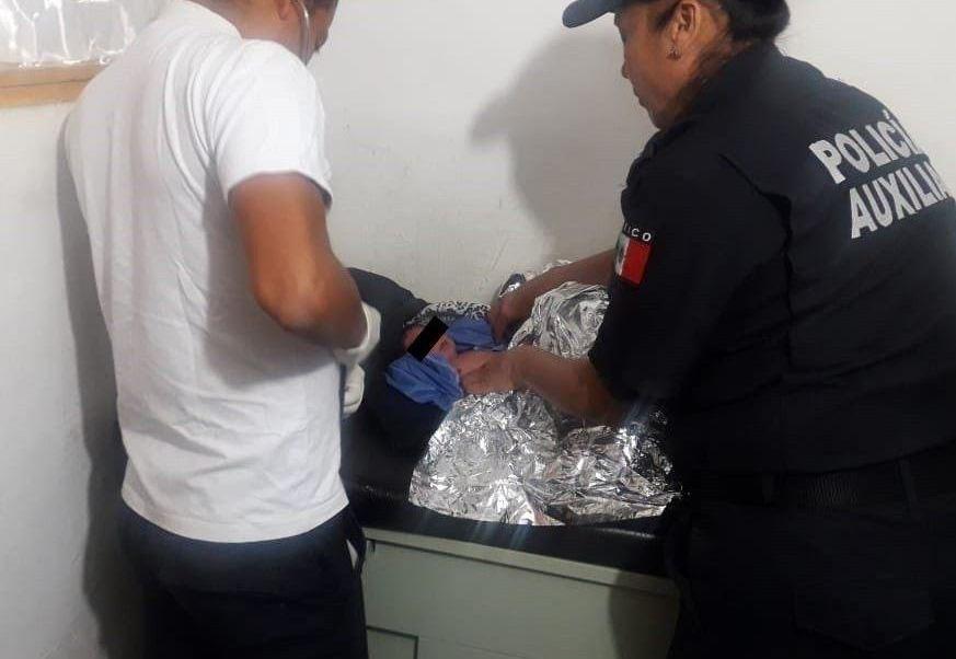 Abandonan a bebé dentro de bolsa en Oaxaca