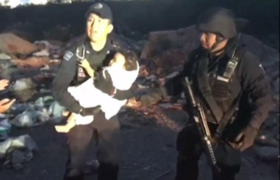 Investigan caso de Mya, la bebé abandonada en basurero de Río Verde, SLP