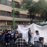 Bloqueo en Eje Central y Belisario Domínguez