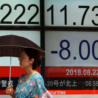 Bolsa de Tokio cierra a la baja, en China esperan aranceles de EU