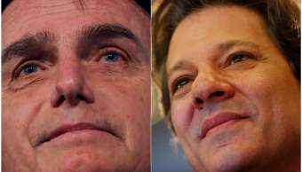 Bolsonaro lidera carrera presidencial en Brasil