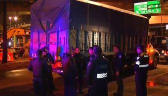Camión provoca persecución de Ecatepec a CDMX