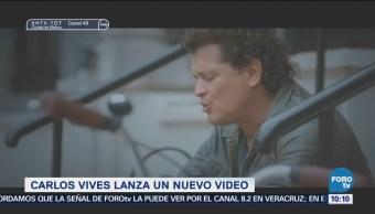 Carlos Vives lanza nuevo video para su sencillo