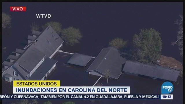 Carolina del Norte permanece bajo el agua tras Florence