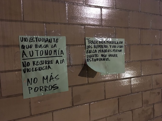 Paro en la UNAM tras agresión en Rectoría