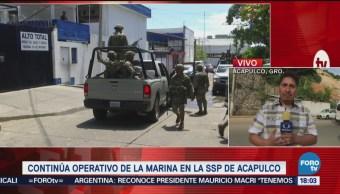 Investigan Armas SSP Acapulco Marina Guerrero