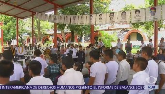 CIDH pide catalogar como desaparición forzada el caso Ayotzinapa