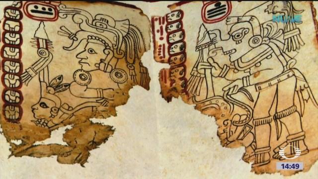 Códice Maya, el documento más antiguo de México