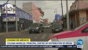 Colonia Morelos Centro Distribución De Droga CDMX