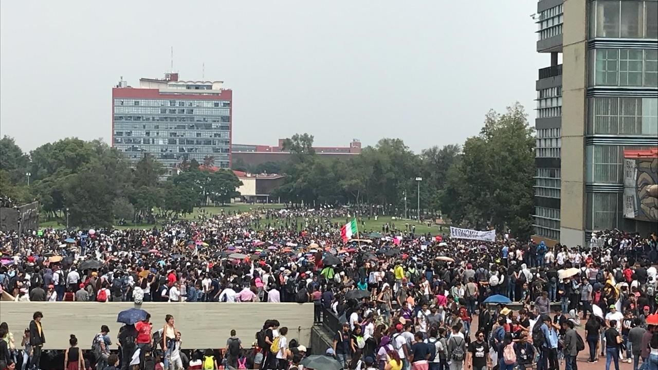 UNAM acepta demandas de estudiantes de CCH Azcapotzalco