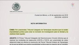 Confirman Creación Comisión De Verdad Caso Ayotzinapa
