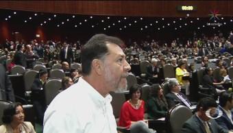 Confrontación entre Fernández Noroña y Porfirio Muñoz