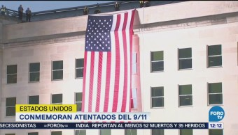 Conmemoran 17 años de los atentados del 9/11