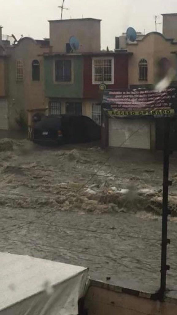 Continúan las afectaciones por lluvias en Cuautitlán Izcalli