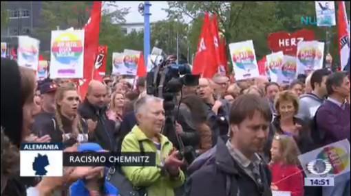 Continúan Manifestaciones Extremistas Alemania