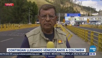 Continúan llegando venezolanos a Colombia