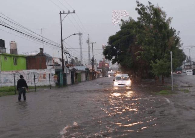 Cuautitlán Izcalli, afectado por lluvias e inundaciones