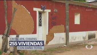 Damnificados de Cintalapa, Chiapas, no recibieron recursos