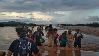 Lluvias en Sonora dejan 169 mil damnificados tras inundación