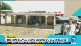 Damnificados Inundaciones Sinaloa Reciben Apoyo Semar