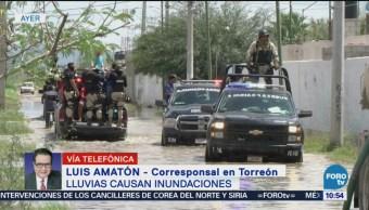Daños Ocasionados Lluvias Torreón Coahuila