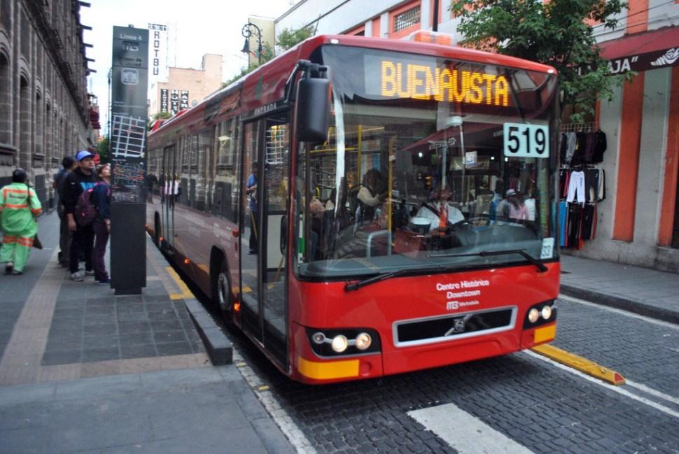 Debido al bloqueo, la Línea 4 del Metrobús realizó un acortamiento