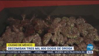Decomisan Cocaína Marihuana Tepito