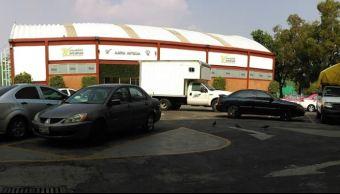 localizan vehiculos robados estacionamiento deportivo moctezuma