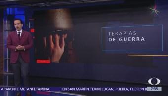 Depresión, ansiedad y estrés, secuelas de fuerzas armadas en México