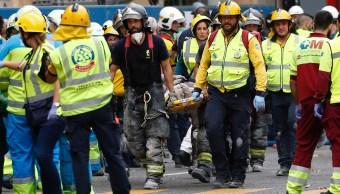 Colapsa parte del hotel Ritz en Madrid; hay un muerto