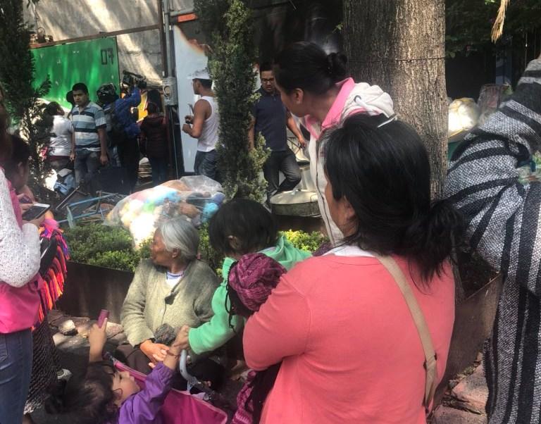 Otomíes desalojados en colonia Juárez denuncian abusos