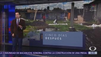 Desazolvan San Mateo Atenco tras desbordamiento del río Lerma