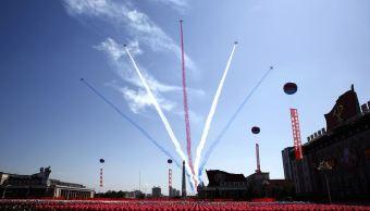 Aniversario Corea del Norte celebra 70 años con desfile