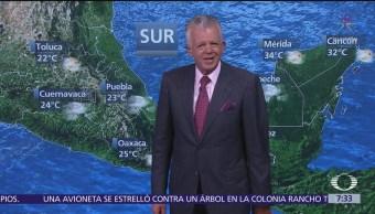 Despierta con Tiempo: Lluvias y tormentas eléctricas en Apodaca, NL