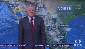 Despierta con Tiempo Pronóstico generalizado de lluvias