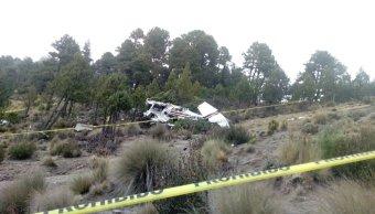 Desplome de avioneta en el Pico de Orizaba deja tres muertos