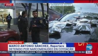 Detienen Hombres Sospechosos Narcomenudeo Coyoacán CDMX