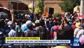 Detienen Implicados Linchamiento Puebla Uno Murió