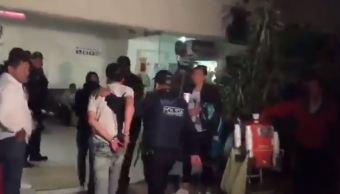 Detienen en la Doctores asaltantes de bar en la Condesa CDMX