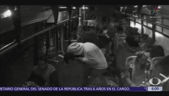 Difunden asalto a pasajeros de transporte público Periférico