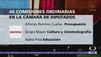 Diputados aprueban conformación de 46 comisiones ordinarias