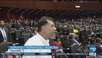 Diputados Empiezan Sesión Pleito