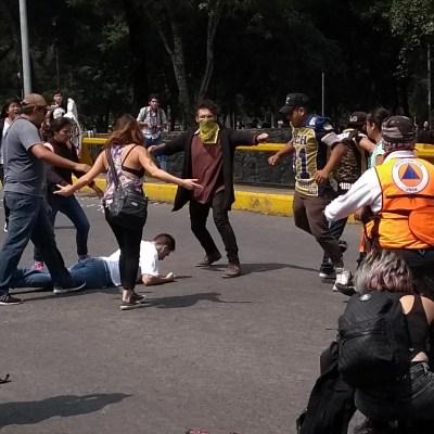 Dirección de CCH condena enfrentamiento en Rectoría de la UNAM