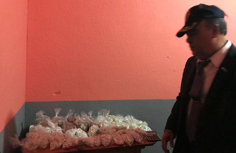 Decomiso de cocaína y marihuana en Tepito